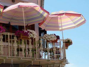чадър за балкона